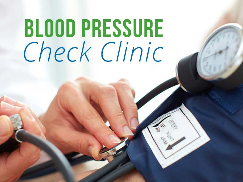 Free Blood Pressure Check Clinic