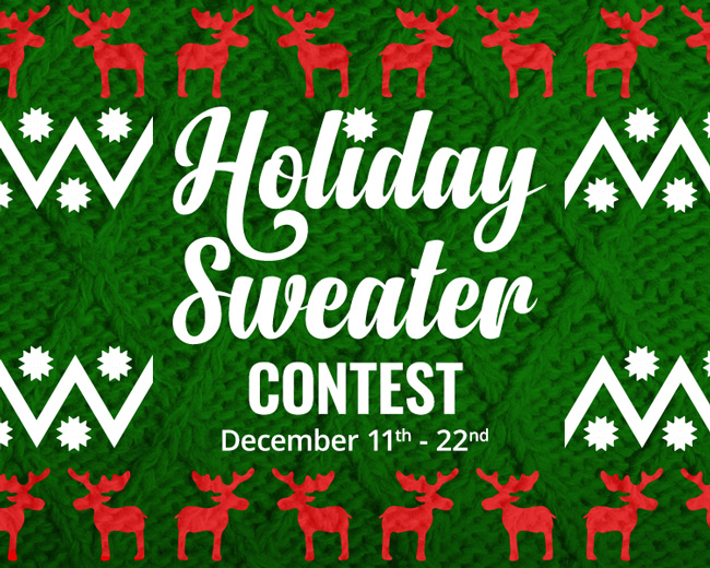 Holiday Sweater Contest!
